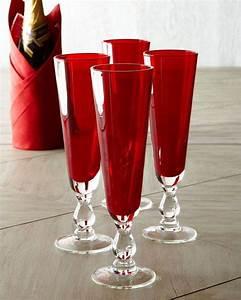 Flûtes à Champagne Originales : d co table mariage rouge et blanc en 40 id es originales ~ Teatrodelosmanantiales.com Idées de Décoration