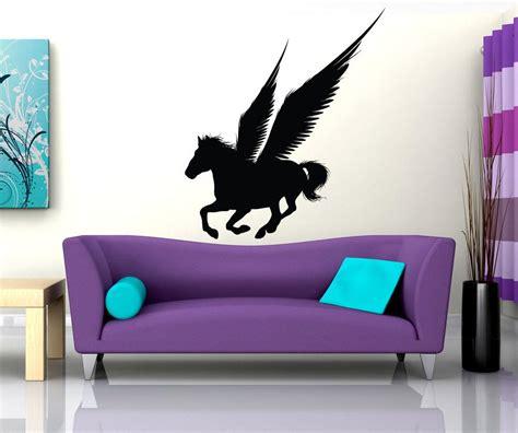vinyl wall decal sticker pegasus silhouette