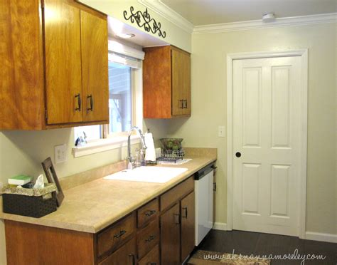 green painted kitchen cabinets kitchen makeover ideas and transformations 2 years in the Olive