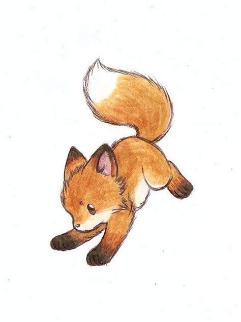 cute fox animals   zeichnungen