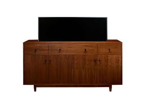 tv cabinet hidden tv lift sound bars used with tv lift furniture cabinet tronix