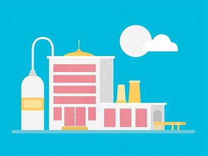 Factory Animation Ui March Dribbble Month Animated