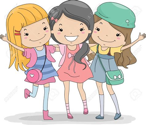 Free Cartoon Friendship Images, Download Free Clip Art
