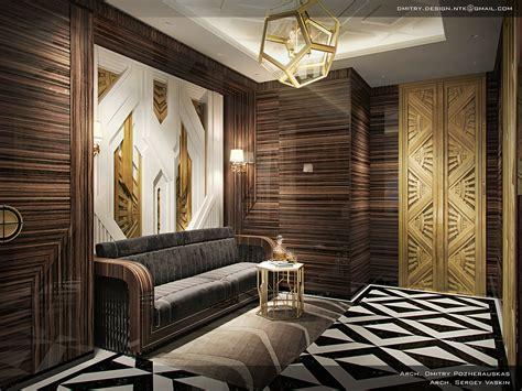 gatsby style cabinet interior design  behance