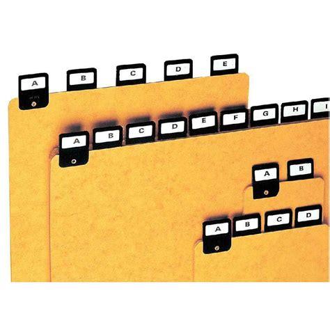 bureau de poste lyon 7 intercalaires alphabetiques h297x210 jeu de 25 coutal