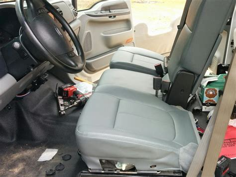ford super duty seat replacement