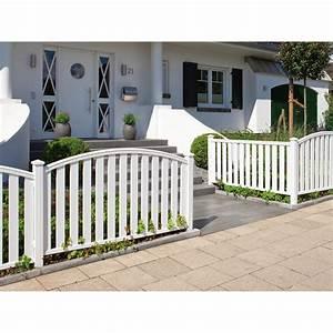 Gartenzaun Weiß Holz : gartenzaun element longlife cleo wei gerade 180 cm x 85 ~ Michelbontemps.com Haus und Dekorationen