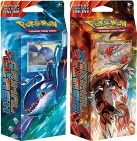 Pokemon Primal Clash Theme Deck Set  Pokemon Theme Decks