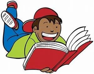 Boy Reading | Free Images at Clker.com - vector clip art ...