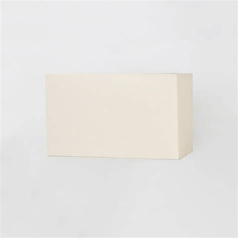 white rectangle l shade astro rectangle 180 white fabric shade at uk electrical