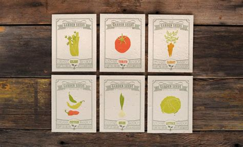 garden themed greeting cards  grow vegetables