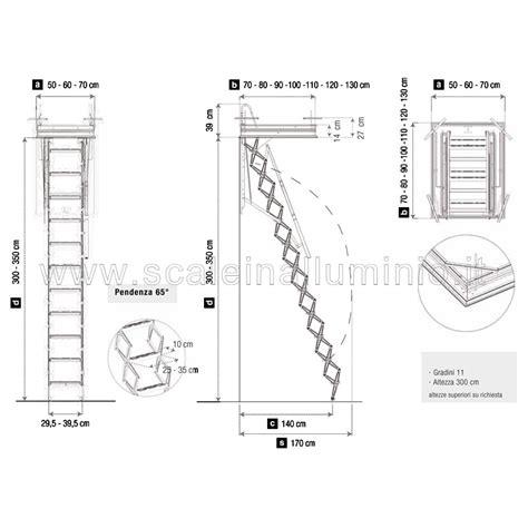 scale per soffitte scale retrattili per soffitte e sottotetti 50 x 70
