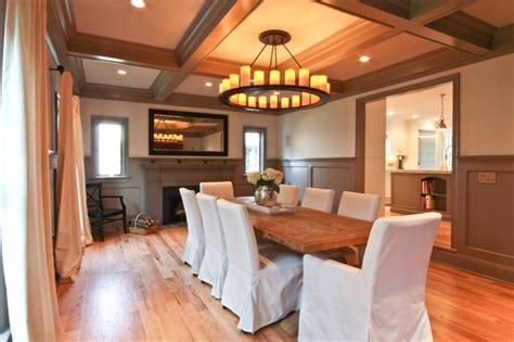 casual dining   formal setting traditional dining room newark  michael robert construction