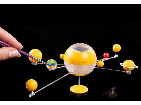 playtastic modell sonnensystem bausatz mit motor