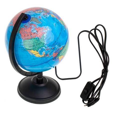 Dekoratīvā LED nakts galda lampa - Globuss | Decorative Night lamp Globe