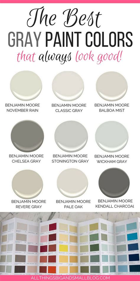 The Best Gray Paint Colors Neverfail Gray Paints