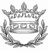Crown Queen Drawing Royal Tattoo Coloring Pages sketch template