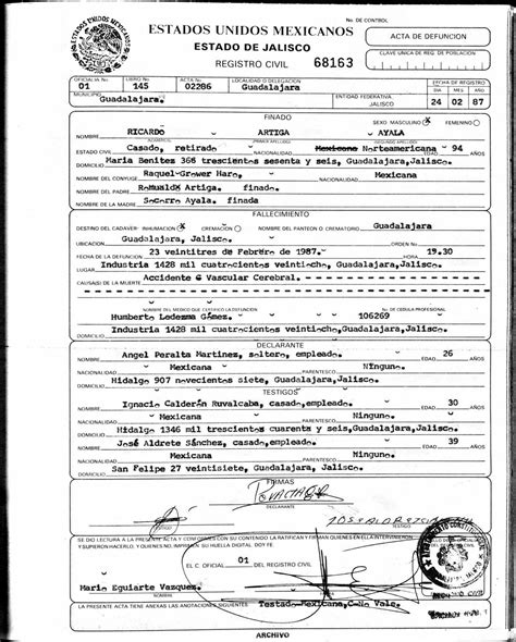 Mexican Marriage Certificate Template by El Salvador Birth Certificate Translation Template Gallery