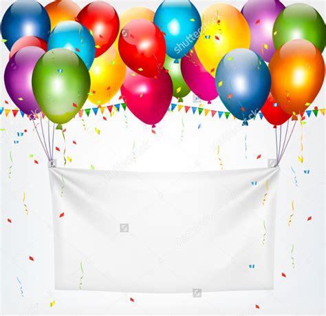 Free Birthday Templates by 21 Birthday Banner Templates Free Sle Exle