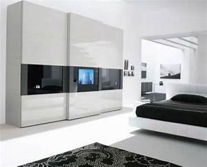 Kleiderschrank Mit Fernseher : ein moderner kleiderschrank in ihrem schlafzimmer 15 tolle ideen ~ Sanjose-hotels-ca.com Haus und Dekorationen