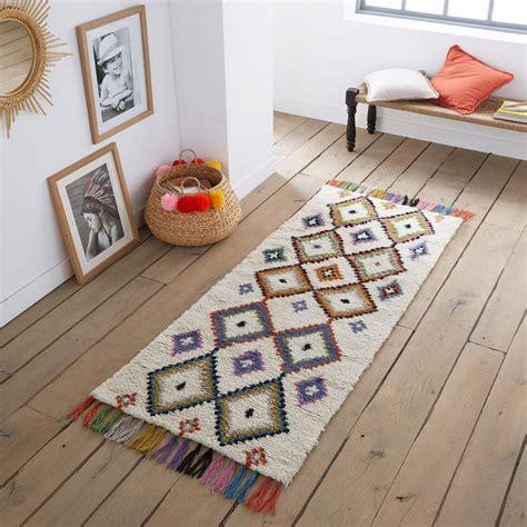 tapis de couloir style berbere ourika multicolore la