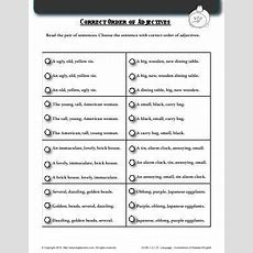 Best 25+ Order Of Adjectives Worksheet Ideas On Pinterest  Subject Verb Agreement Pdf, List Of