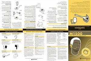 Plantronics A500 Bluetooth Class 2 Device User Manual