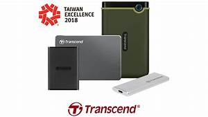 Transcend Wins 4 Taiwan Excellence Award For 2018