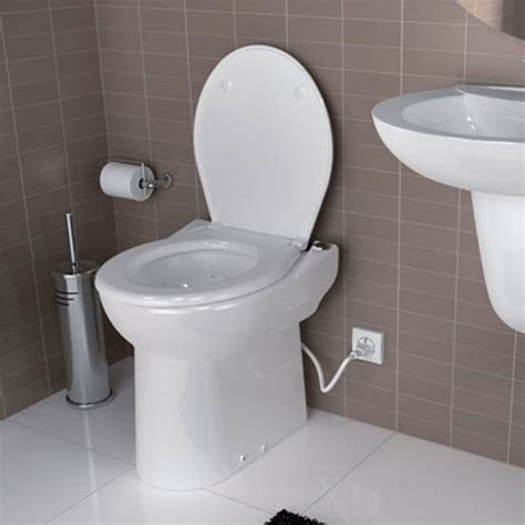 Saniflo Sanicompact Toilet  1081  Back To Wall White
