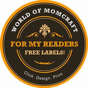 free custom mason jar label maker world of momcraft With jar label maker