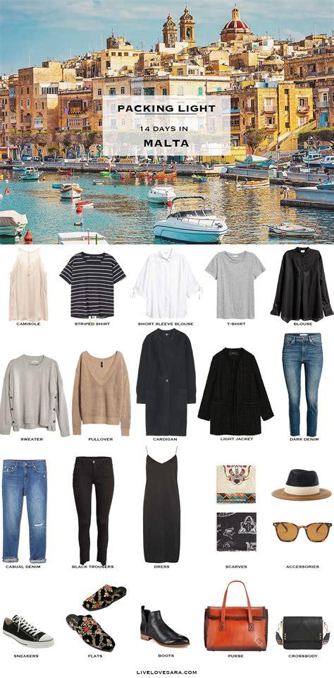 What To Pack For Malta In April Packing Light Livelovesara