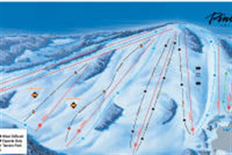 pine knob ski pine knob ski resort mountain stats info onthesnow