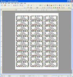 avery template  microsoft word address label