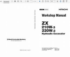Hitachi Zaxis Zx210w