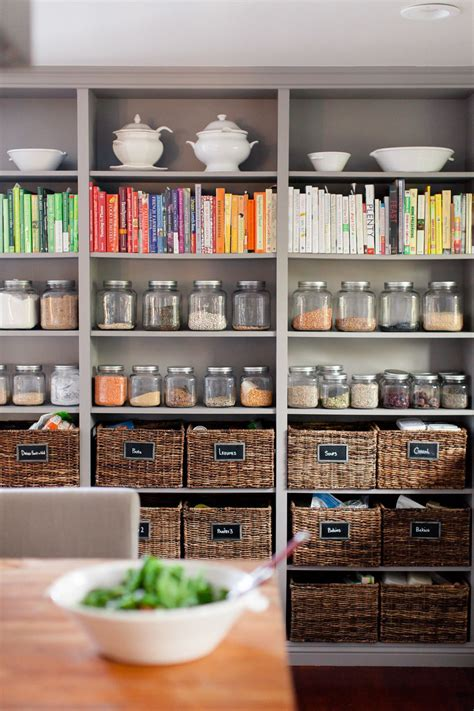 23+ Incredible Kitchen Organization Open Shelves