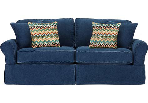 cindy crawford sleeper sofa home isles blue sleeper sleeper sofas blue
