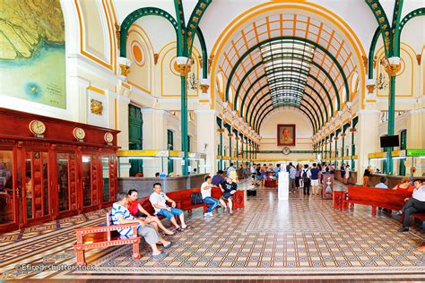 Central Post Office In Ho Chi Minh City  Ho Chi Minh