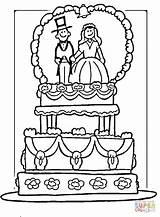 Coloring Printable Bride Bouquet sketch template