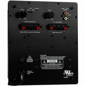 New Subwoofer Amplifier 70w Speaker Amp Replacement Woofer