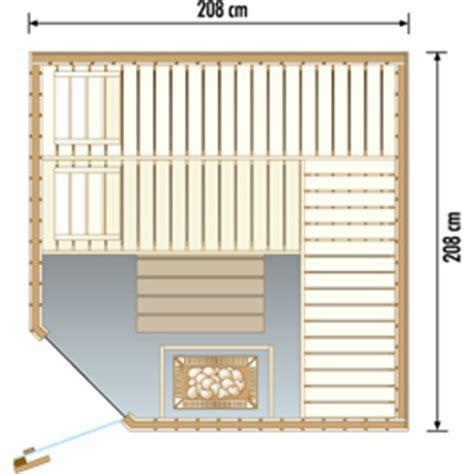 Achat Sauna Standard D'angle 5 6 Personnes Domo