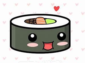 Cute kawaii sushi by TrubuteOfDistrict13.deviantart.com on ...