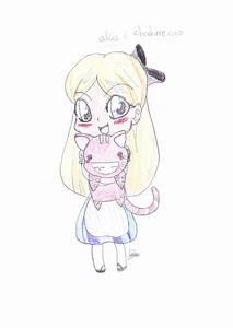 alice in wonderland drawing by animegirlfever on DeviantArt