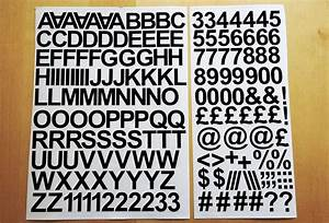 25cm 1 inch self adhesive vinyl sticker letters and With 2 inch vinyl letter stickers