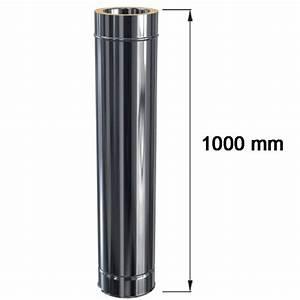 1000 Mm En M : edelstahlschornstein l ngenelement doppelwandig dw 180 mm ~ Dailycaller-alerts.com Idées de Décoration
