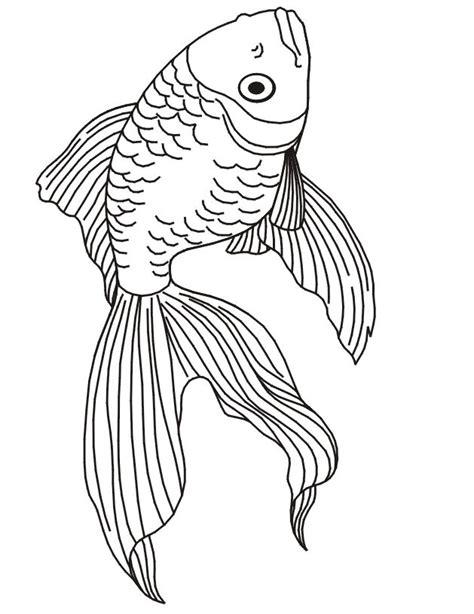 imprime le dessin  colorier de poisson