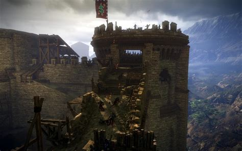the siege 2 the witcher 2 screenshots castle siege 1 bitgrabbers