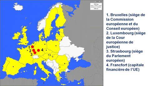 siege auto categorie les villes où siègent les institutions de l 39 union