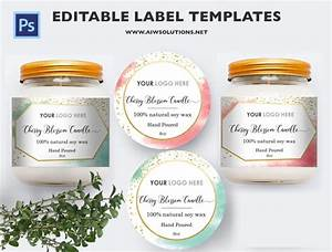 Candle Label  Bernardin Jar Labels  Bottlelabels  Candy