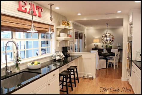 ideas  open galley kitchen  pinterest