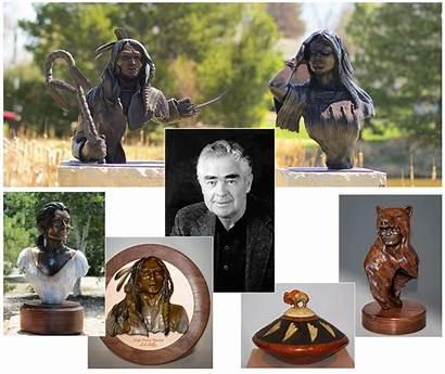 George Sculptures Western